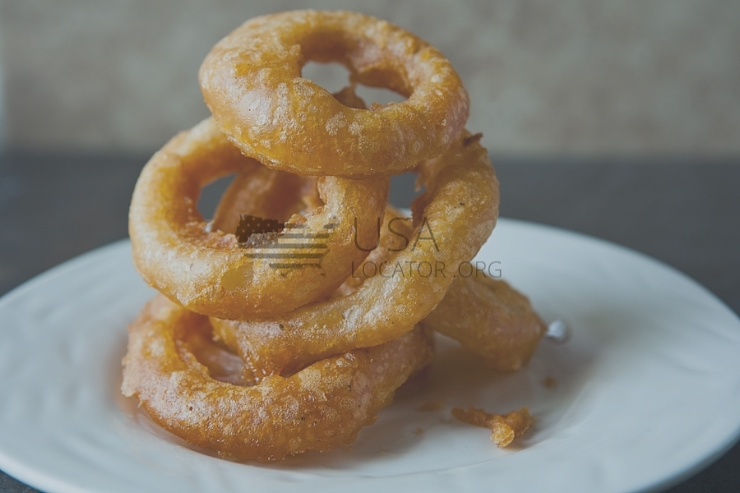 Onion Rings, Battered photo
