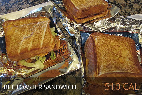 Sonic Nutrition - Blt Toaster Sandwich 510 cal